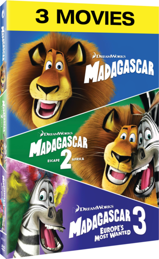 Madagascar / Madagascar: Escape 2 Africa / Madagascar 3: Europe's Most Wanted