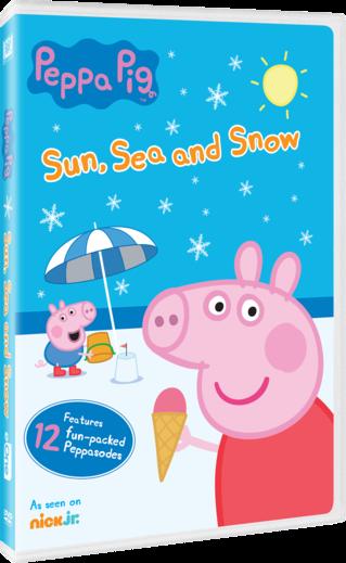 Peppa Pig Sun, Sea, and Snow