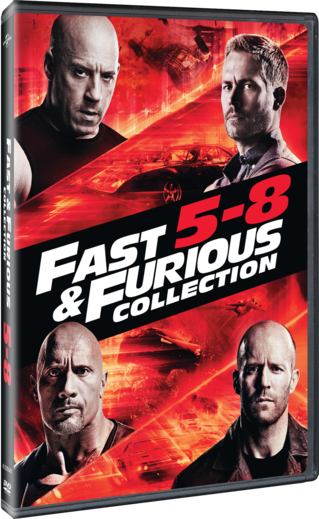 Fast & Furious Collection 5-8