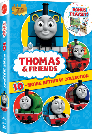 Thomas & Friends 10 Movie Birthday Collection
