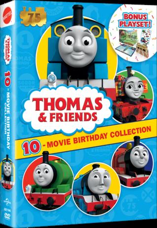 Thomas & Friends 10 Movie Birthday Collection