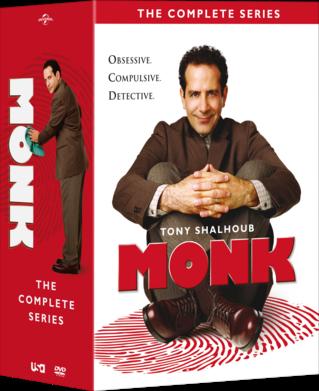 Monk Complete Season