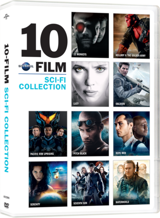 Universal 10 Film Sci-Fi Collection