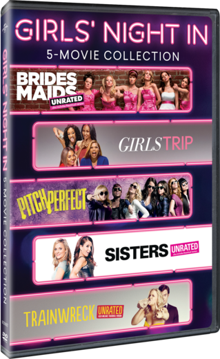 Girls Night In 5 Movie Collection
