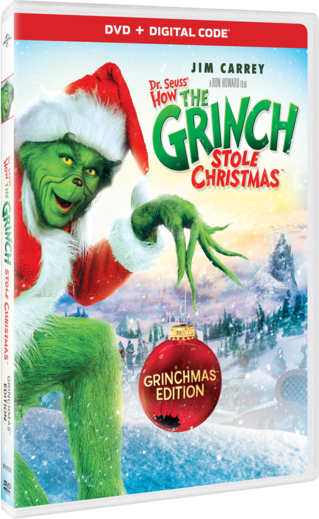 How The Grinch Stole Christmas 2021 Dvd Cover Dr Seuss How The Grinch Stole Christmas Own Watch Dr Seuss How The Grinch Stole Christmas Universal Pictures