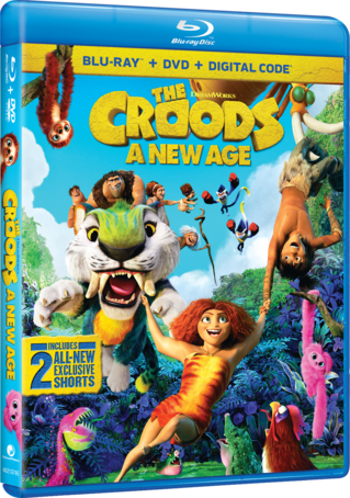 The Croods: A New Age Blu-ray