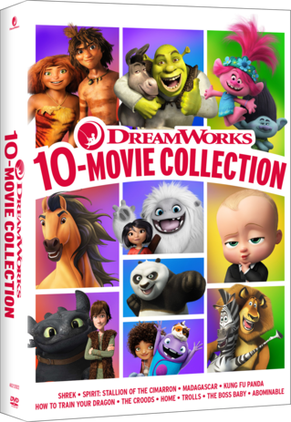 DreamWorks 10 Movie Collection