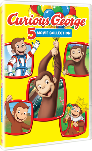 Curious George 5 Movie Collection
