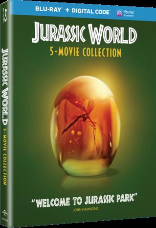 Jurassic World 5 Movie Collection