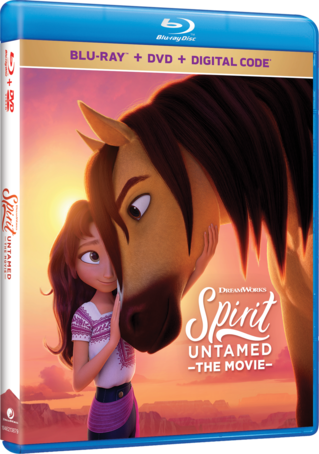Spirit Untamed Blu-ray