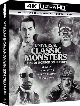 Universal Classic Monsters: Icons of Horror Collection 4K UHD