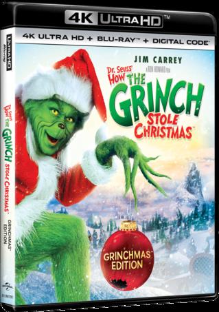 Dr. Seuss' How the Grinch Stole Christmas Grinchmas Edition 4K
