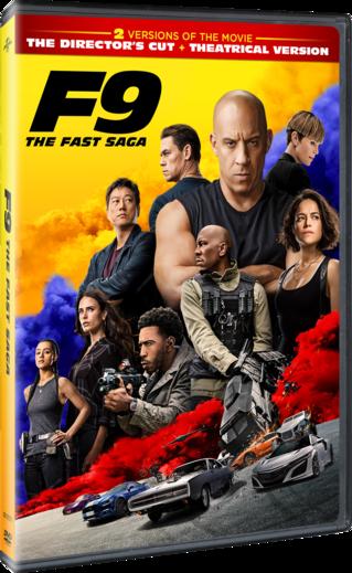 F9: The Fast Saga DVD