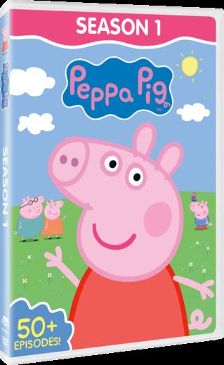 Peppa Pig: Season 1 DVD