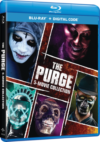 The Purge: 5-Movie Collection Blu-ray