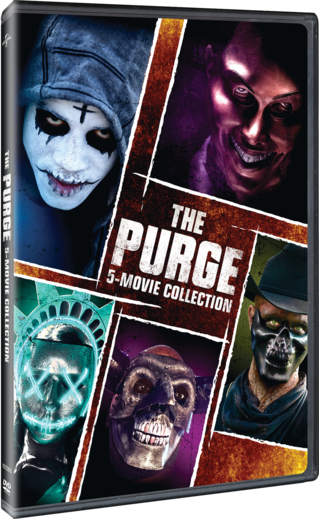 The Purge: 5-Movie Collection DVD