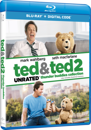 Ted & Ted 2: UNRATED Thunder Buddies Collection Blu-ray