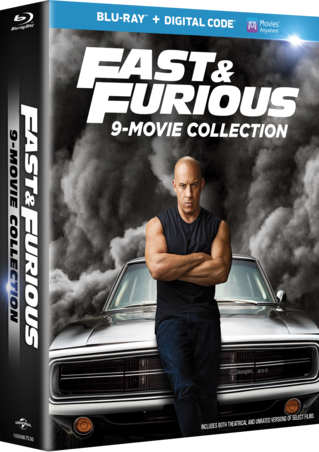 Fast & Furious 9-Movie Collection Blu-ray