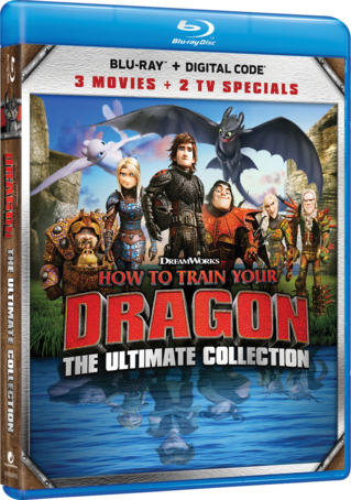 How To Train Your Dragon: The Ultimate Collection Blu-ray