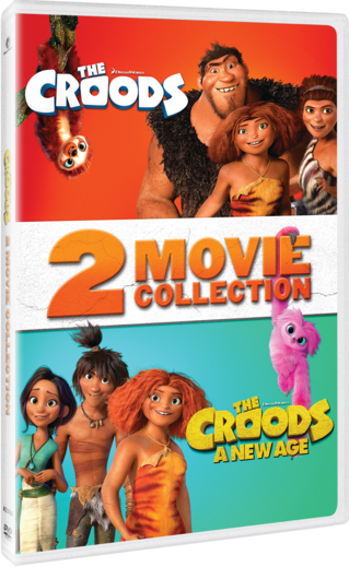 The Croods: 2 Movie Collection DVD