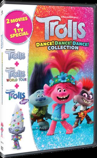 Trolls: Dance! Dance! Dance! Collection DVD