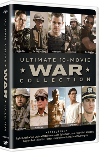 Ultimate 10-Movie War Collection DVD