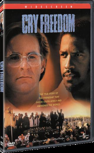 Cry Freedom DVD
