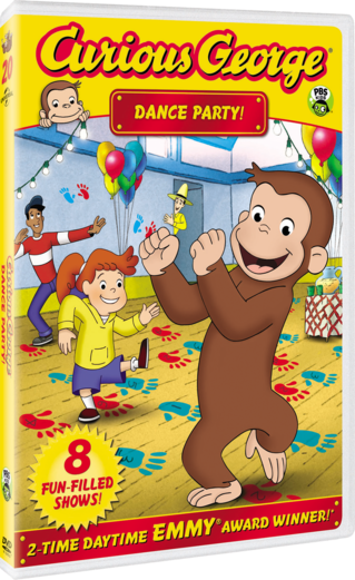Curious George: Dance Party! DVD