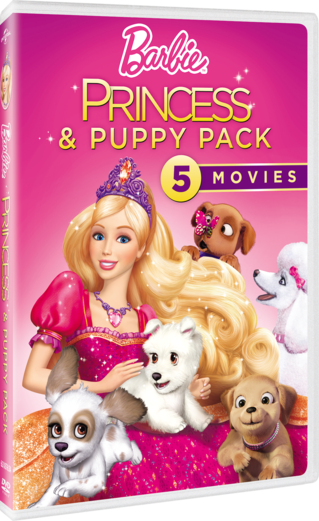 Barbie Princess & Puppy Pack