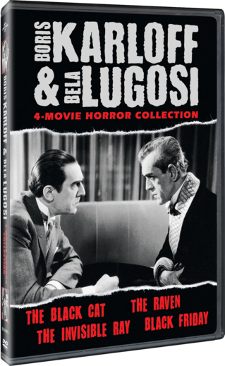 Boris Karloff and Bela Lugosi Horror Classics Collection