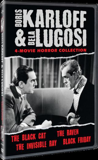 Boris Karloff and Bela Lugosi Horror Classics Collection
