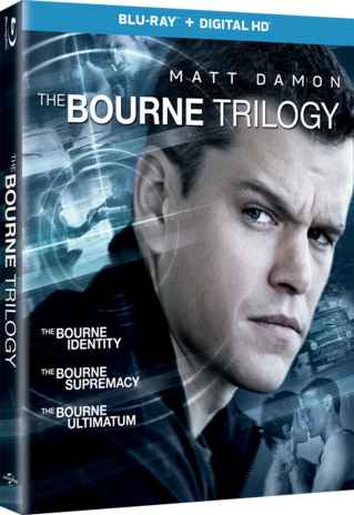 The Bourne Trilogy (Bourne Identity / Bourne Supremacy / Bourne Ultimatum)