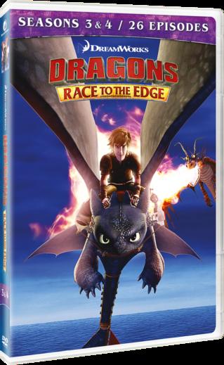 Dragons: Race to the Edge - Seasons 3 & 4