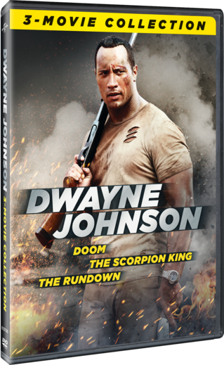 Dwayne Johnson 3-Movie Collection (Doom / The Scorpion King / The Rundown)