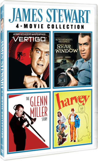 James Stewart 4-Movie Collection