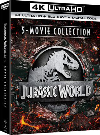 Jurassic World 5-Movie Collection