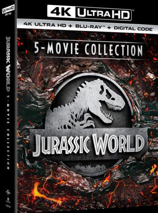 Jurassic World 5-Movie Collection