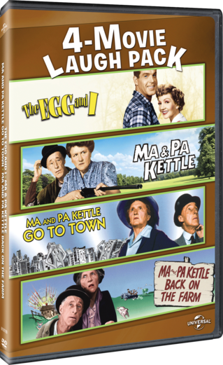 4-Movie Laugh Pack: The Egg and I / Ma & Pa Kettle / Ma and Pa Kettle Go to Town / Ma and Pa Kettle Back on the Farm