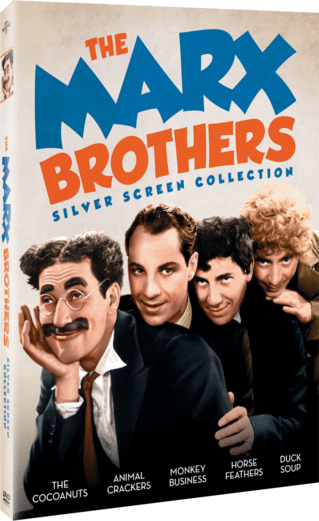 The Marx Brothers Silver Screen Collection