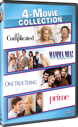 4-Movie Collection: It's Complicated / Mamma Mia! The Movie / One True Thing / Prime