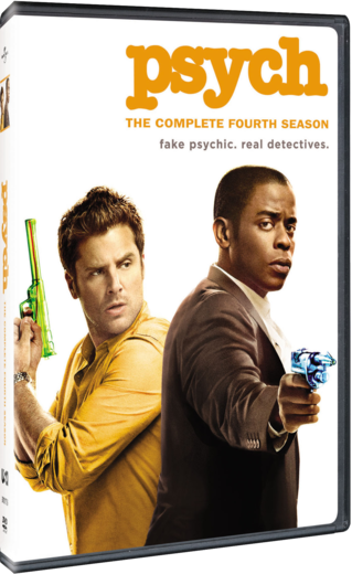 Psych: The Complete Fourth Season