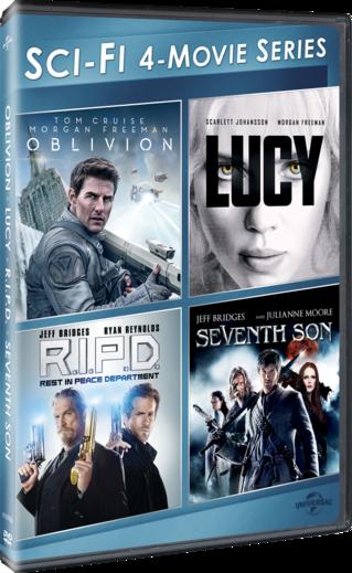 Sci-Fi 4-Movie Series (Oblivion / Lucy / R.I.P.D. / Seventh Son)