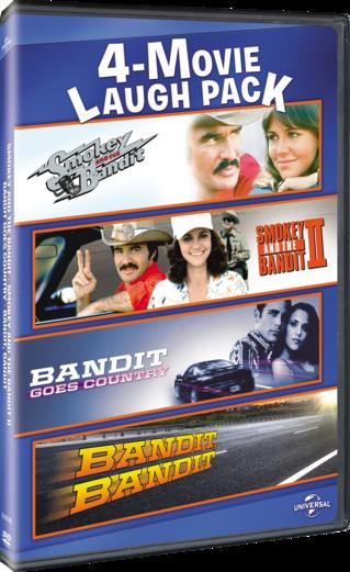 4-Movie Laugh Pack: Smokey and the Bandit / Smokey and the Bandit II / Bandit Goes Country / Bandit, Bandit