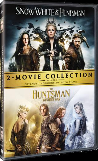 Snow White & The Huntsman / The Huntsman: Winter's War 2- Movie Collection