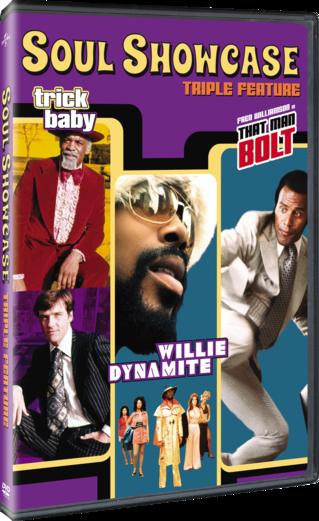 Soul Showcase Triple Feature (Willie Dynamite / That Man Bolt / Trick Baby)
