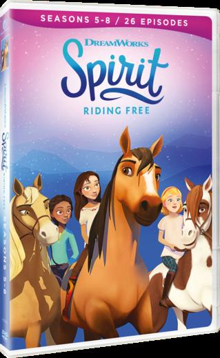 Spirit Riding Free: Seasons 5-8