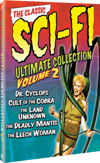The Classic Sci-Fi Ultimate Collection: Volume 2 (Dr. Cyclops / Cult of the Cobra / The Land of the Unknown / The Deadly Mantis / The Leech Woman)