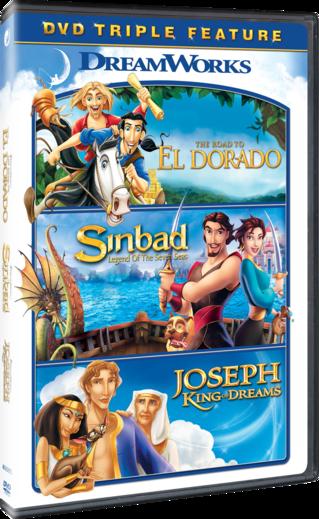 The Road to El Dorado / Sinbad: Legend of the Seven Seas / Joseph: King of Dreams Triple Feature