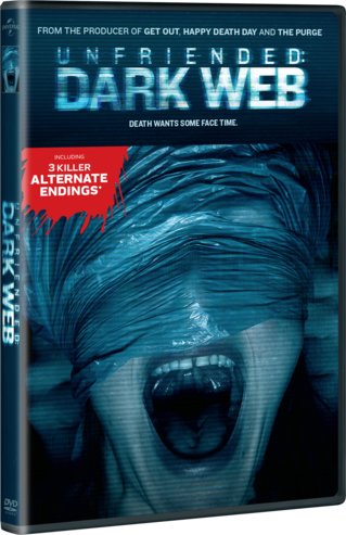 What are the two endings to Unfriended dark web