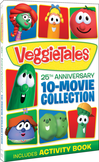 VeggieTales: 25th Anniversary 10-Movie Collection